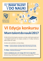 Mam talent do nauki 2017!