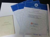Dyplom Przeduniwersyteckich Studiów Informatycznych dla ucznia NST